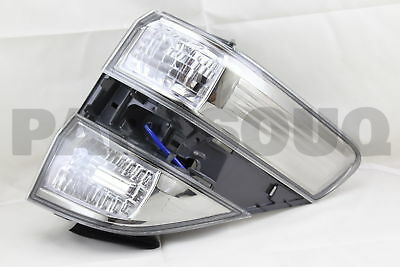 8155158082 Genuine Toyota LENS & BODY, REAR COMBINATION LAMP, RH 81551-58082