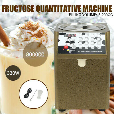 110V Bubble Tea Equipment Fructose Quantitative Machine Fructose Dispenser US