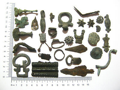 Lot of Ancient Misc. Bronze, Iron and Billon Artifacts