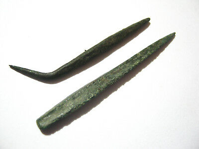 Central European Bronze Age Arrowheads ca.13th-6th Century BC