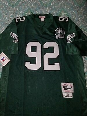 e152c15c6 ... germany eagles jersey reggie white 92 mitchell ness throwback official  nfl size large 179a6 9bbaa