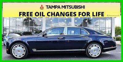2011 Bentley Mulsanne ~~~ LIKE NEW ~~~ IN OUR SHOWROOM ~~~ MINT ~~~ 2011 LUXURY Used Turbo 6.8L V8 16V Automatic RWD Moonroof