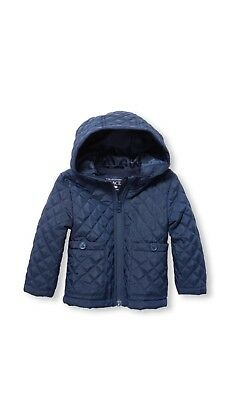 TCP Toddler Girl Hooded Quilted Jacket Size 5T ~ Toddler Girl Jacket 5T