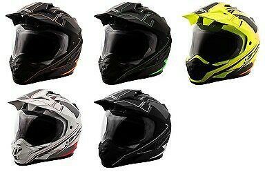 Gmax Gm11 Expedition Full Face Dual Sport Helmet