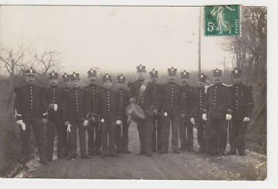 Cpa Sapeurs Pompiers Annees 1900....( Anonymes )