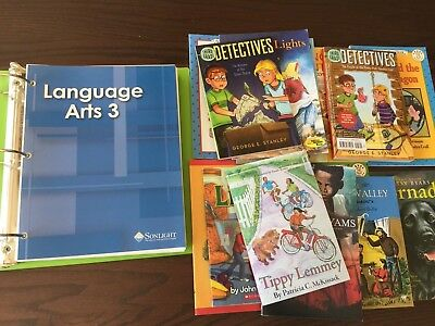 Sonlight Language Arts 3 Lot:  Instructor's Guide, Student Worksheets, Readers