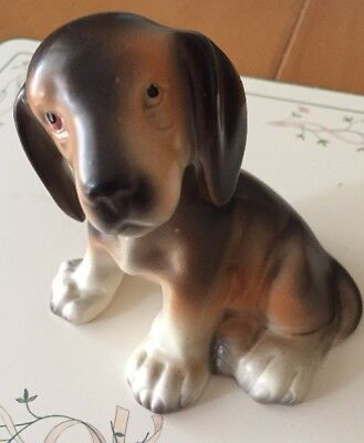 Erphila Beagle Puppy Dog 2662 Porcelain Figurine Germany #2662