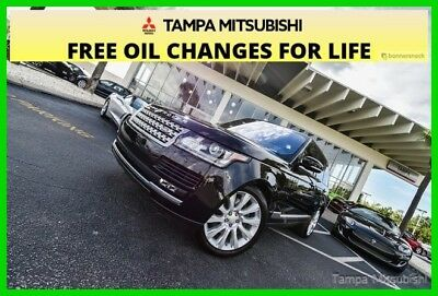2016 Land Rover Range Rover 5.0L V8  ~~ Supercharged ~~ 4X4 ~~ 2016 5.0L V8 Supercharged Used 5L V8 32V Automatic 4WD SUV Moonroof Premium