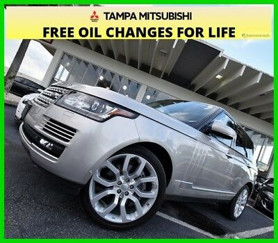 2015 Land Rover Range Rover 5.0L V8 Supercharged ~~ 4X4 ~~ 2015 5.0L V8 Supercharged Used 5L V8 32V Automatic 4WD SUV Moonroof Premium
