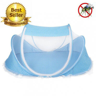Plegable Bebé Infantil Pop-up Cuna ,Cuna Anti-Bug Carpa Mosquitera Con...