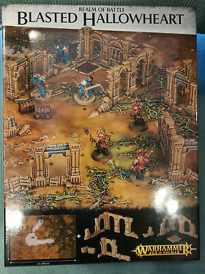 Realm of Battle Blasted Hallowheart, Warhammer Age of Sigmar, Games Workshop,