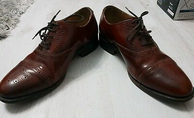 Barker Shoes Brown Leather Brogue size 7