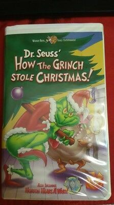How The Grinch Stole Christmas 2000 Vhs.Rare 2000 Original Vhs Dr Seuss How The Grinch Stole