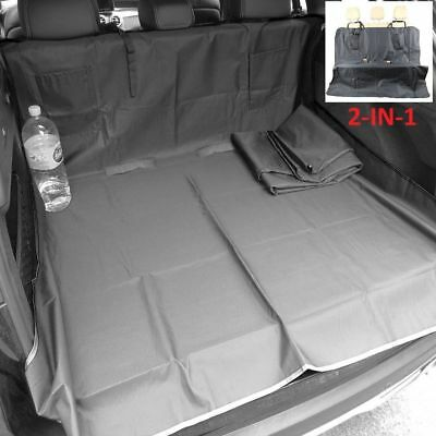 Quilted Pet Dog Heavy Duty Boot Liner Protector For Seat Exeo ST 2009-2016