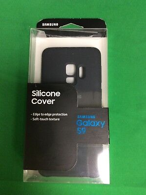 Samsung Silicone Protective Cover for Samsung Galaxy S9 Black