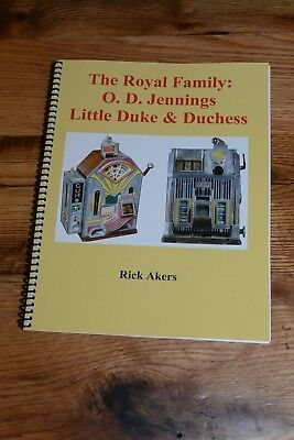 Jennings Little Duke & Duchess Service Manual with Black & White Photos