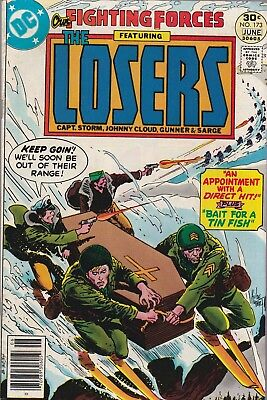 Our Fighting Forces, The Losers #173 (May-Jun 1977, DC Comics)***VG/FN