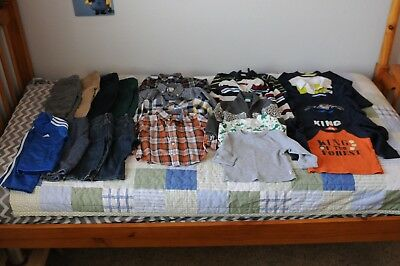 ~GYMBOREE~ Entire FALL Wardrobe 21 pieces Boys 12-18 Month Bundle Jeans Shirts +