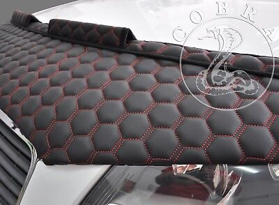 Car Hood Bra In RED HONEYCOMB Fits Honda Civic SEDAN 06 07 08 09 2010 2011