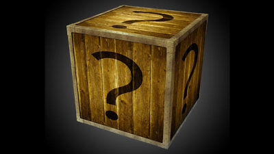 Mystery box - possible contents: electronics, clothing, games, dvds and more