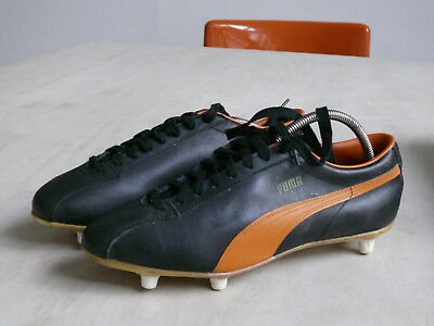 Puma  Real UK 9 1/2 Fussball Schuhe Vintage 70s Germany New Soccer Vintage