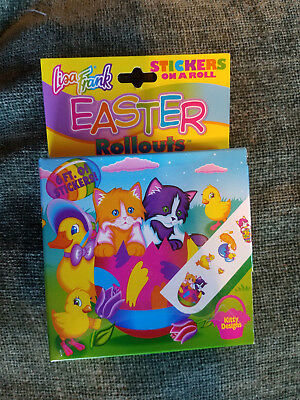 New Vintage Lisa Frank Easter Rollouts Stickers on a Roll Cats