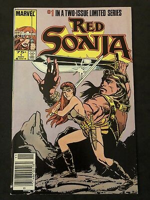 RED SONJA THE MOVIE #1 (of 2) 1985 CONAN COVER! + CONAN THE DESTROYER #2!