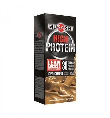 Musashi P30 Protein Milk Coffee 375ml x 6
