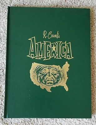 R. Crumb's America - Hardcover Book - Signed by R. Crumb - Knockabout Comics
