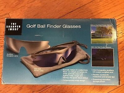 The Sharper Image Golf Ball Finder Glasses NEW IN BOX