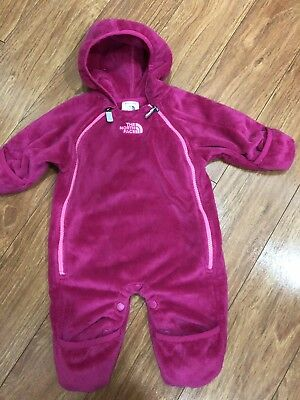 The North Face 0-3 Pink Snowsuit Infant