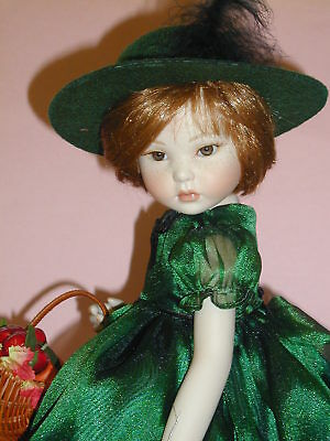 Marie Osmond Porcelain Doll - Autumn Harvest #1935/2000  Pristine*read Listing
