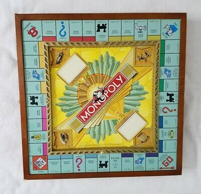 MONOPOLY Premier 70th Anniversary Edition Wooden Set Board Game