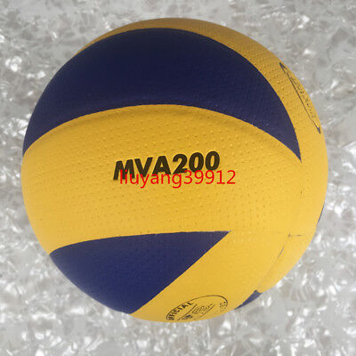 Mikasa 200 volleyball Olympic Game official ball with whistle needle net pump