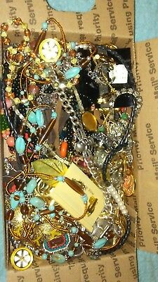 Vintage to Now JUNK DRAWER Jewelry Lot Estate Find UNSEARCHED UNTESTED