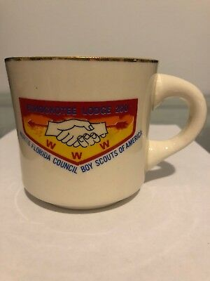 Vintage Boy Scouts Of America Echockotee Lodge 200 Coffee Mug