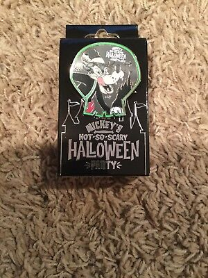 Big Bad Wolf Mickey's Not So Scary Halloween Party 2018 Disney Pin