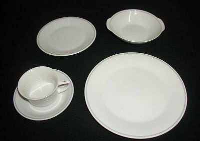 Braniff International Airlines 12 Person 1970s 747 1st Class Dish & Flatware Set