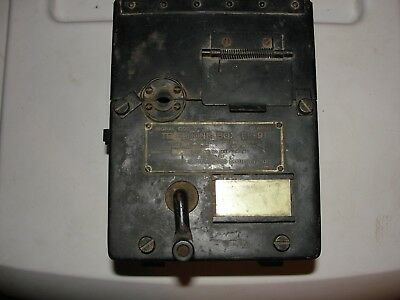 Rare - Vintage  US Army TELEPHONE BOX EE-91 _ Signal Corps (WWII)