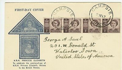 1947 Princess Elizabeth issue. Cover attributed to Rex Bodin in lovely condition