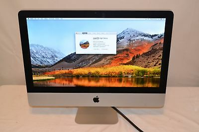 "Apple iMac 21.5"" A1311 4GB RAM 2.5GHz Core i5-2400S 500GB HDD Mid 2011"