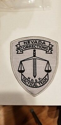 State of Nevada Department of Corrections Patch! Tactical Team!