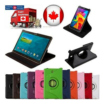 """360 ° Stand PU Case Cover for Samsung Galaxy Tab A 10.5"""" 2018 SM-T590 SM-T597W"""