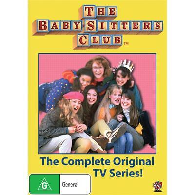 BRAND NEW The Babysitters Club : Complete Series (DVD, 2-Disc Set) R4