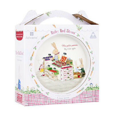 Ashdene Ruby Red Shoes Kids Dinner Set