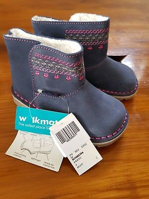 BNWT Walkmates Toddler/Girls Boots/Shoes - Size 5