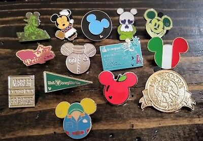 Disney pin collection lot