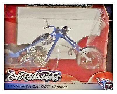 TITANS 1:18 Scale Diecast OCC Chopper NEW. Rare