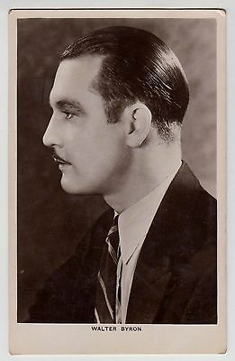POSTCARD - Picturegoer #331a Walter Byron, movie film cinema actor
