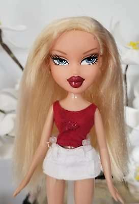 Bratz Doll Welcome To Fabulous Las Vegas Cloe Doll Blonde Red Lips RARE HTF